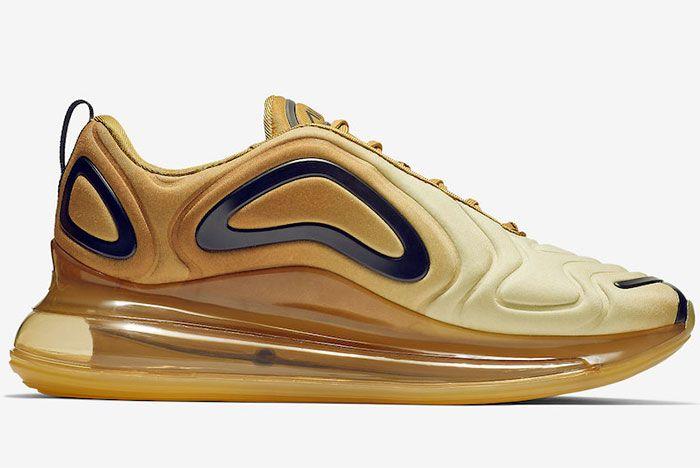 Nike Air Max 720 Desert Gold Right