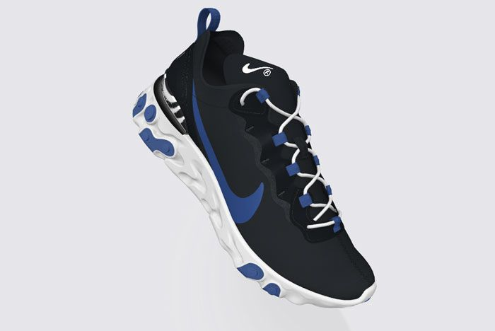 Nike React Element 55 Psyched By You Black Side