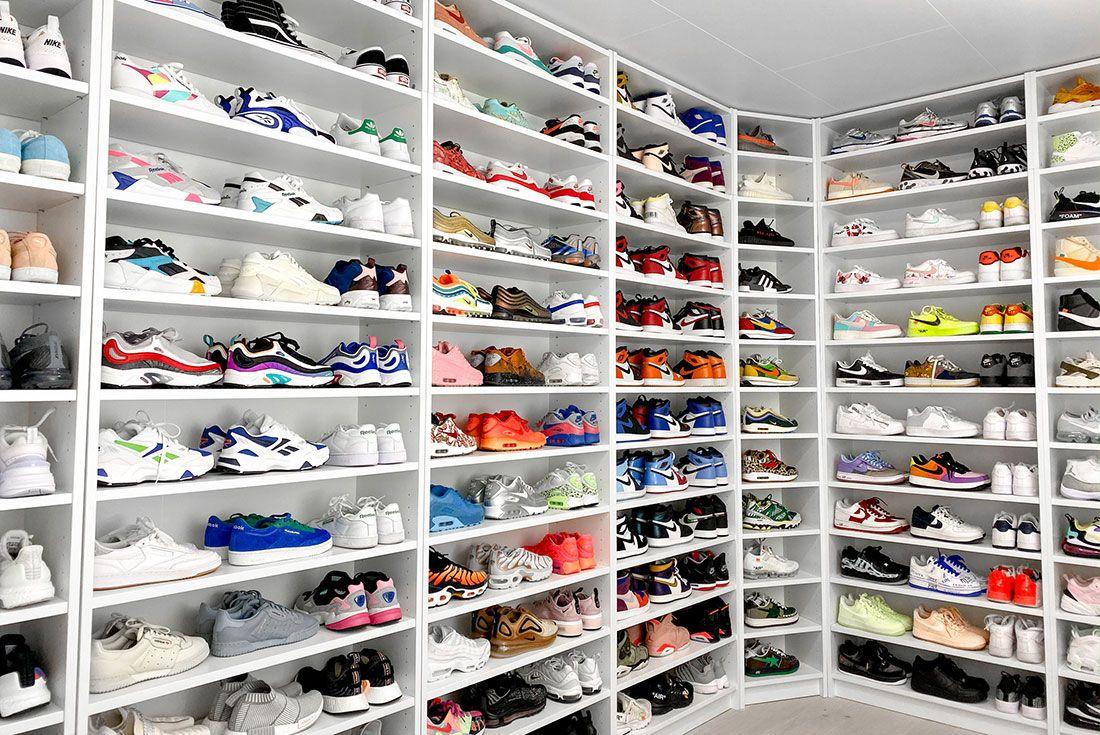 Nike Female Sneakers Shoe Shelf Helsoe
