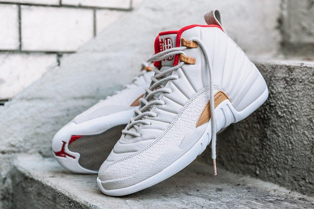 Air Jordan 12 Gs Chinese New Year3