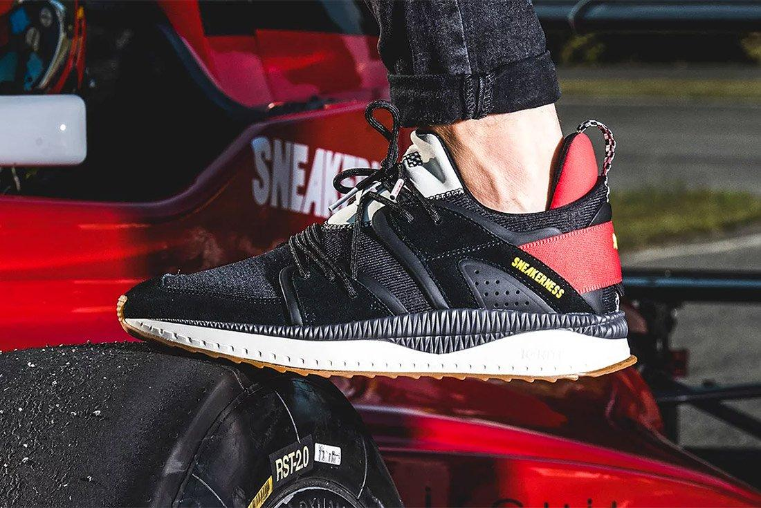 Sneakerness Puma Tsugi Black Race Car Club 3