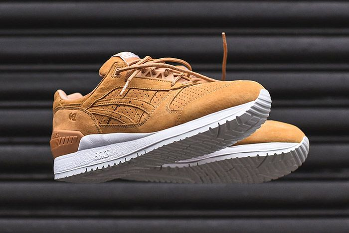 Asics Gel Respector Tan Clay Suede 1