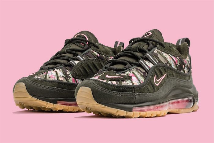 Nike Air Max 98 Floral Sequoia 1