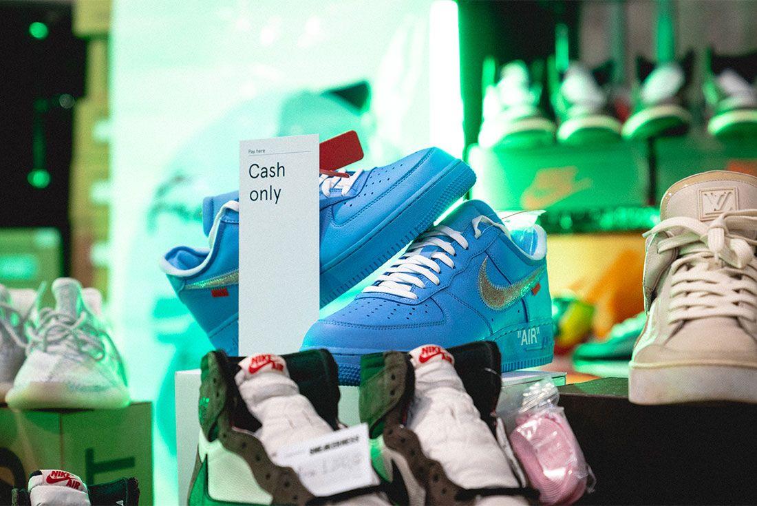 Sneakerness Milan Sneaker Freaker Vendor Tables32