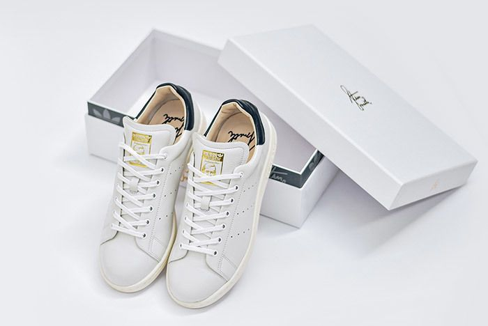 Adidas Stan Smith Leather Reconstructed White Black 12
