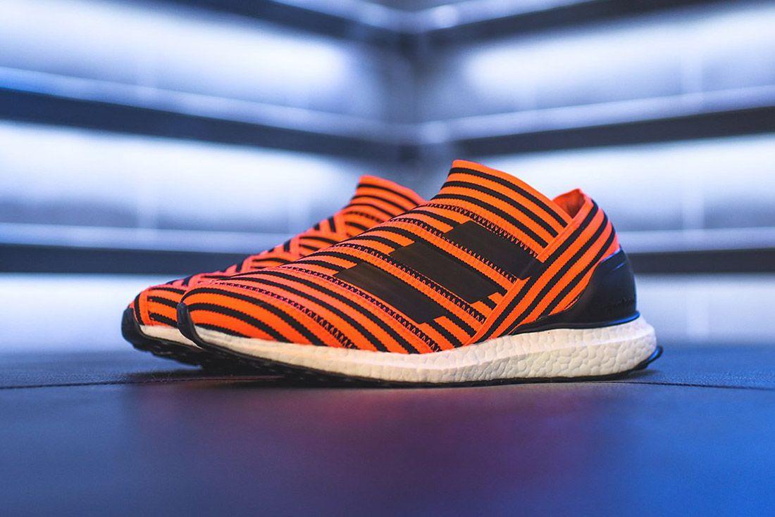 Adidas Nemeziz Tango 17 Orange Black3