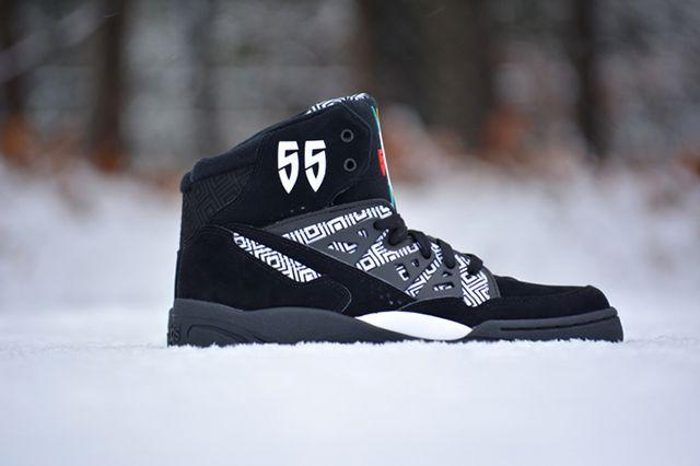 Adidas Mutombo Black White 1