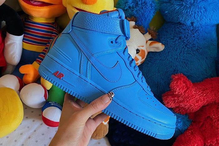 Don C Nike Air Force 1 High Chicago Lateral Side Shot