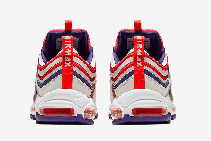 Nike Air Max 97 Ultra Court Purple Infrared Heel