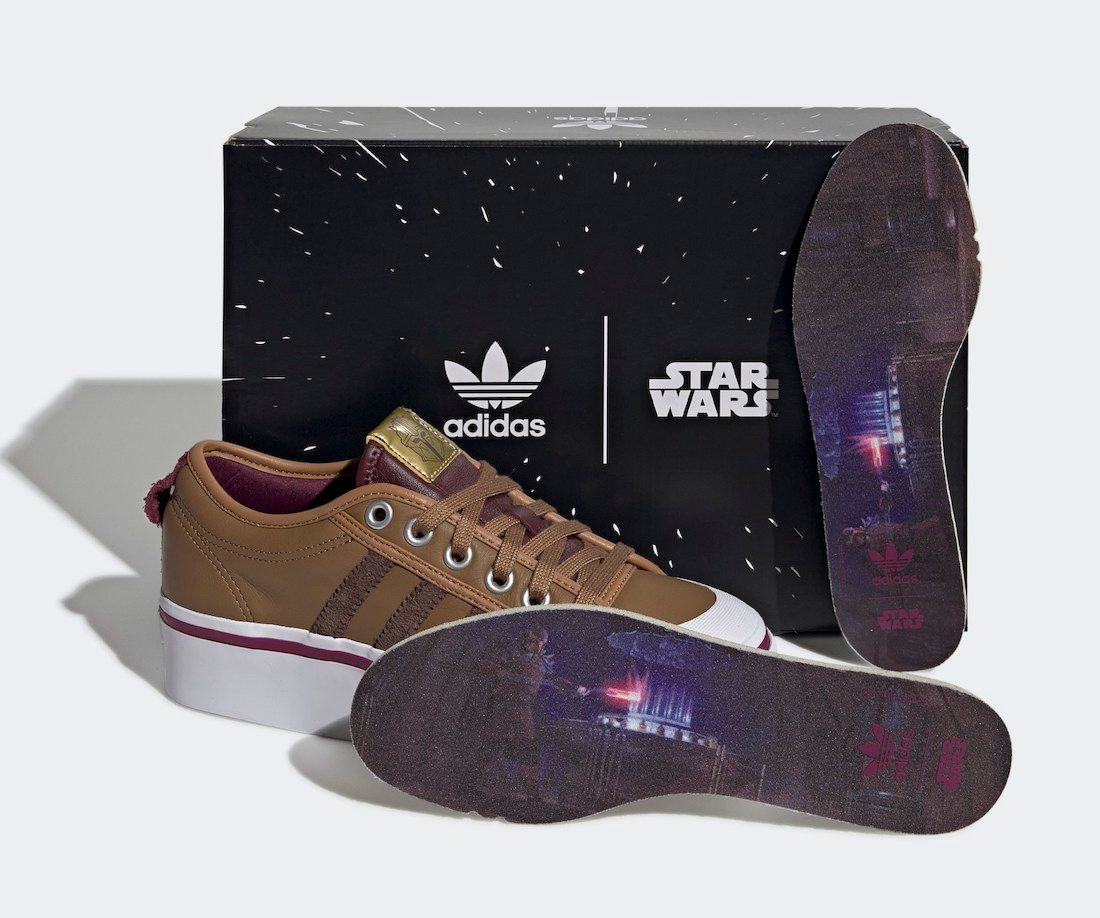 Star Wars x adidas Nizza 'Beskar Steel'