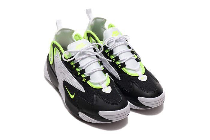 Nike Zoom 2K Black White Volt Pair