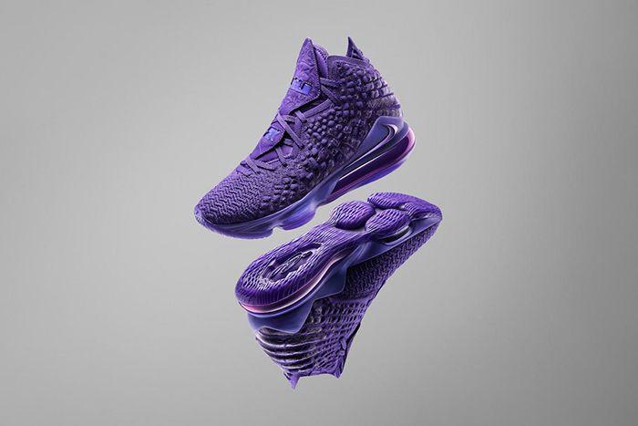 Nike Lebron 17 2K20 Ge Gamer Exclusive Purple Release Date Hero