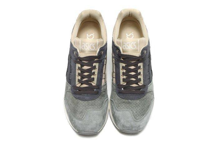 Asics Gel Respector Cream Dark Grey 4