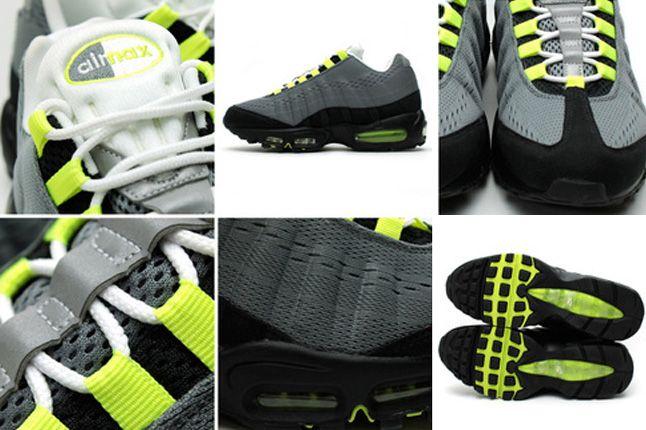 Nike Air Max 95 Enigineered Mesh Quater Details 1