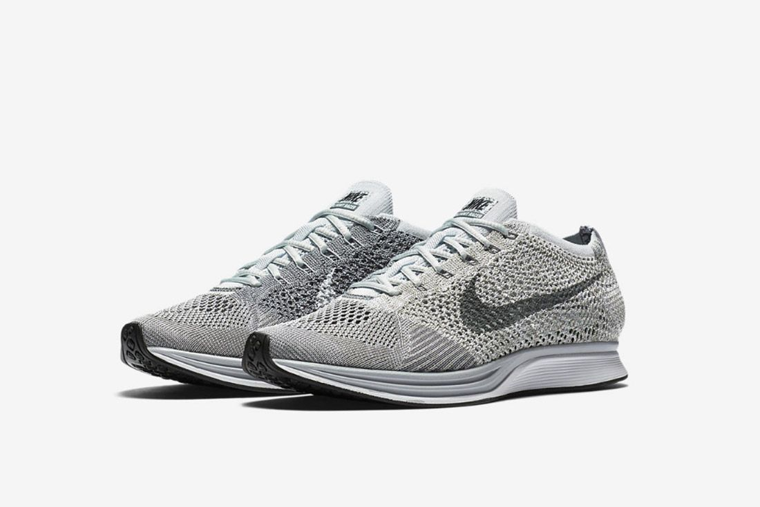Nike Flyknit Racer Pure Platinum 2