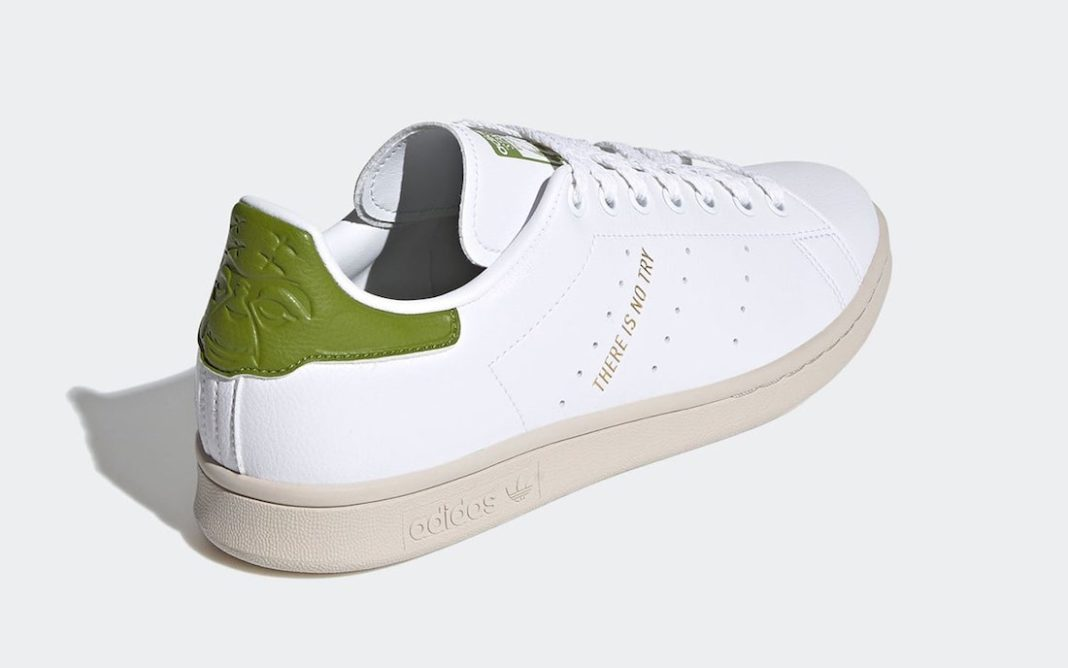 Yoda x star wars x adidas stan smith official