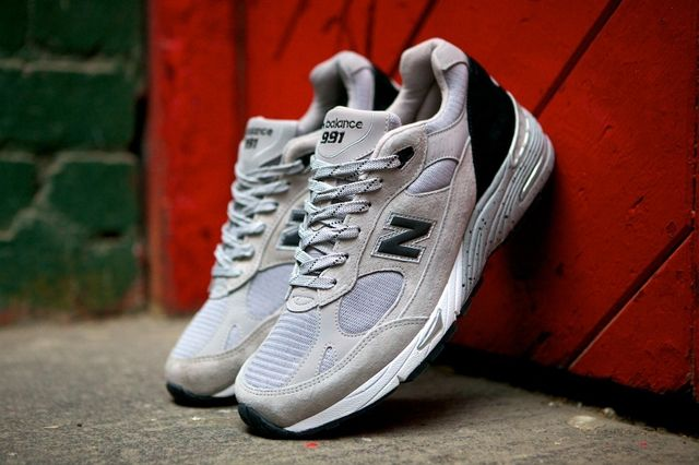New Balance 991 Made In Usa Grey Black 8