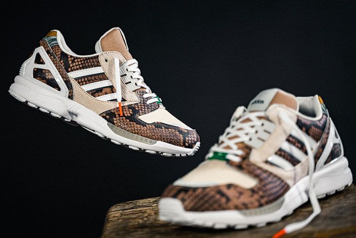 Adidas Zx 8000 Lethal Nights Pack Brown Fw2154 Lateral Side Shot