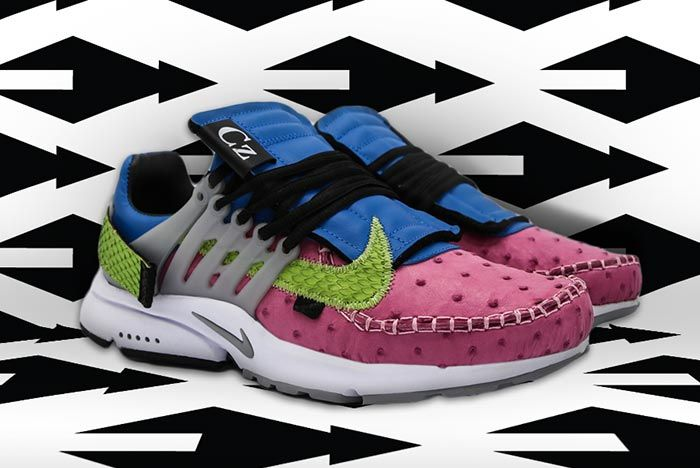 Nike Air Presto Ceeze Custom Three Quarter Shot