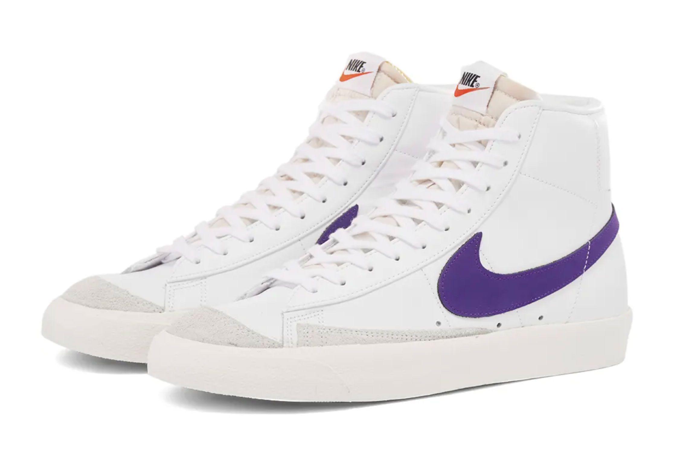 Nike Blazer Mid (Voltage Purple)