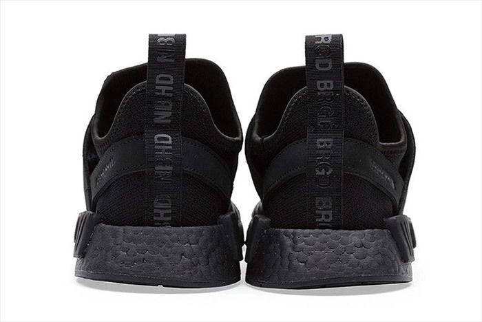 Adidas Neighborhood Nmd Triple Black 2