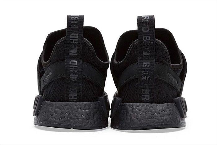 Adidas Neighborhood Nmd Triple Black 2