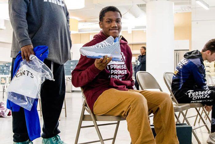 Lebron James I Promise Kids Free Shoes6