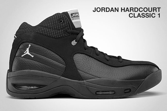 Jordan Hardcourt Classic 1 Black 1