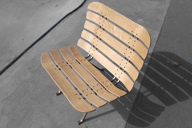 Skateboard Deck Chair 6