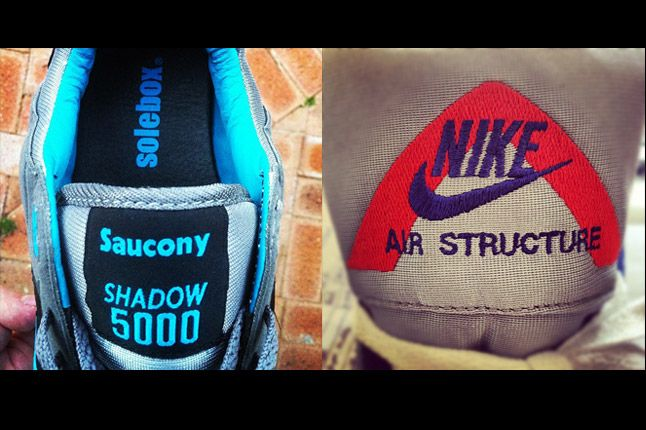 Saucony Solebox Shadow 5000 Nike Air Structure 1