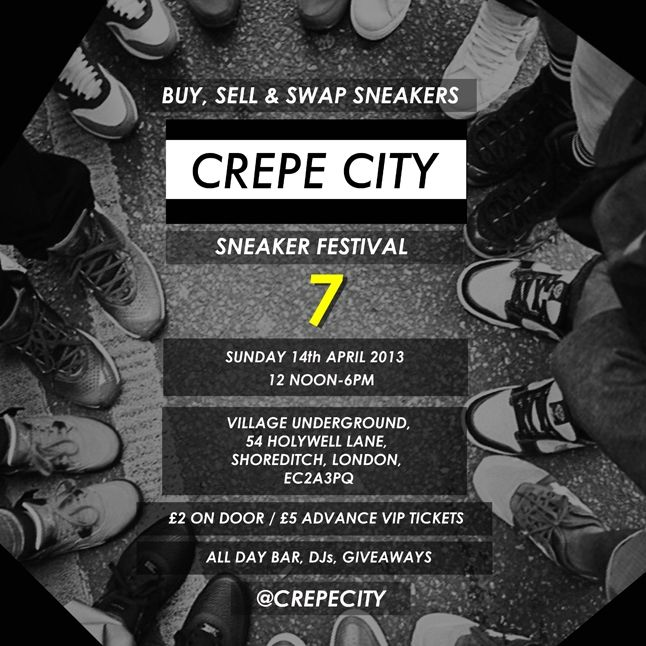 Crepe City 7 Sneaker Festival Flyer 1