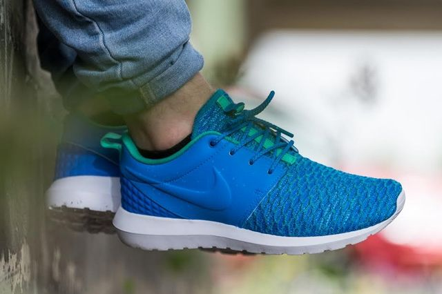 Nike Roshe Nm Flyknit Premium Soar Blue Atomic Teal