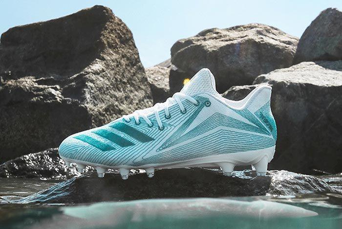 Adidas Parley University Of Miami Plastic Cleats 4