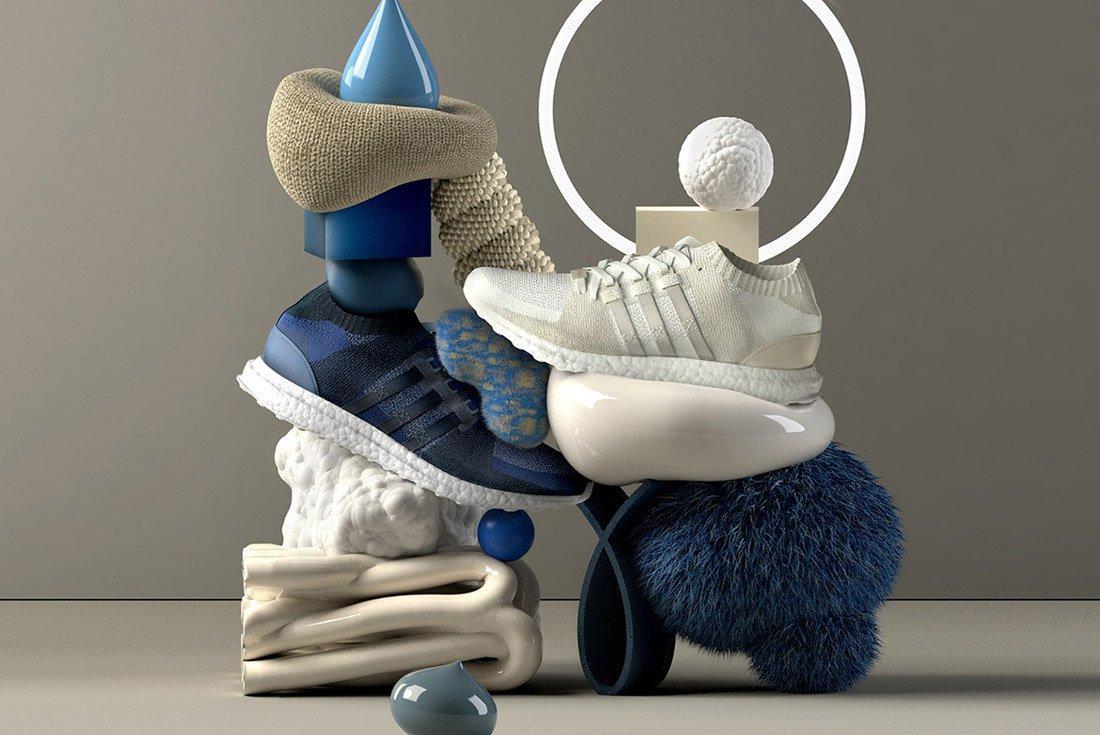 Sneakersnstuff Adidas Eqt Materials Pack 1