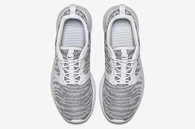 Nike Roshe Run Knit Jacquard White Cool Grey 3