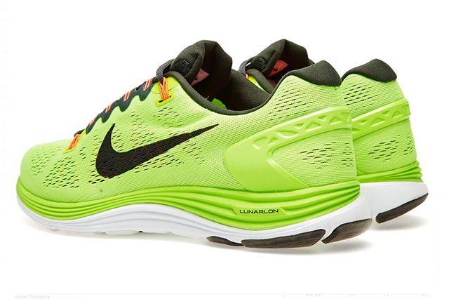 Nike Lunarglide 5 Flash Lime 5