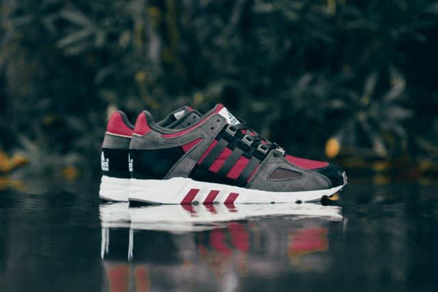 Adidas Eqt Running Guidance Support 93 Core Black Rust Red 5
