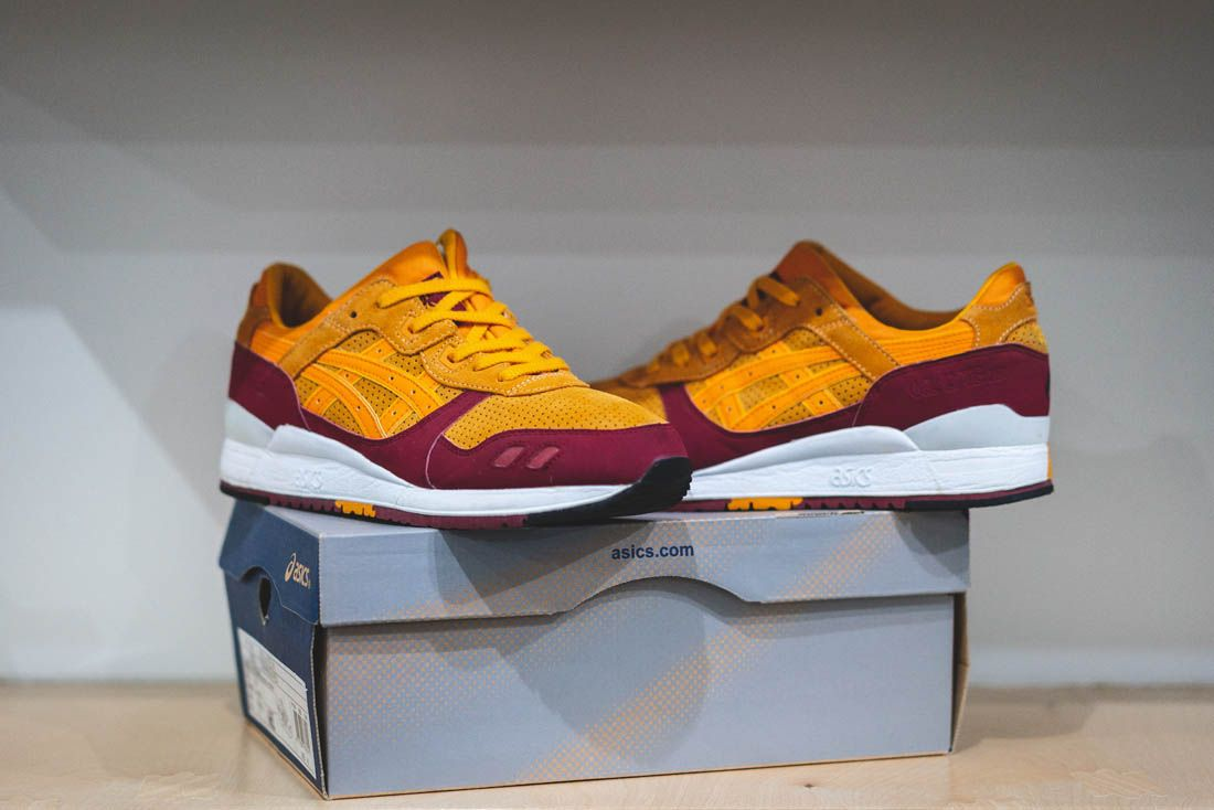 Asics Gel Lyte Iii Hanon Thomas Lindie Interview Wildcats Box