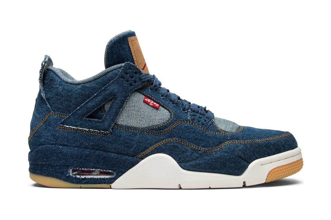 Levis Blue Air Jordan 4 Best Greatest Ever All Time Feature