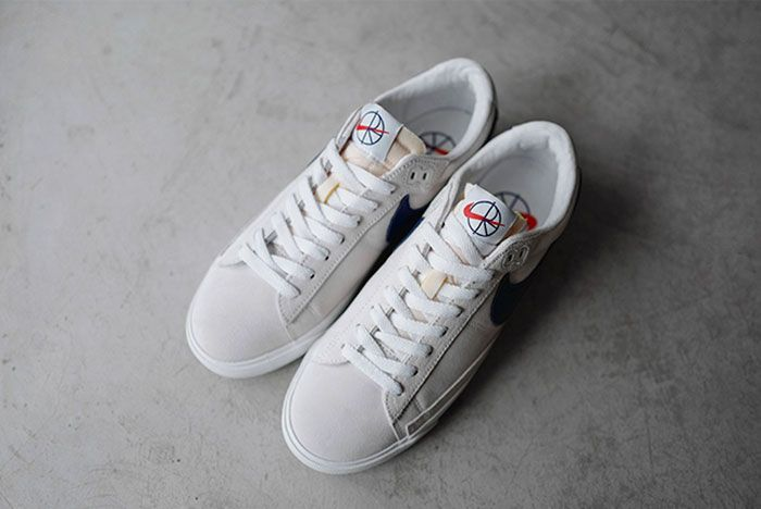 Nike Sb Polar Skate Co Blazer Low Top