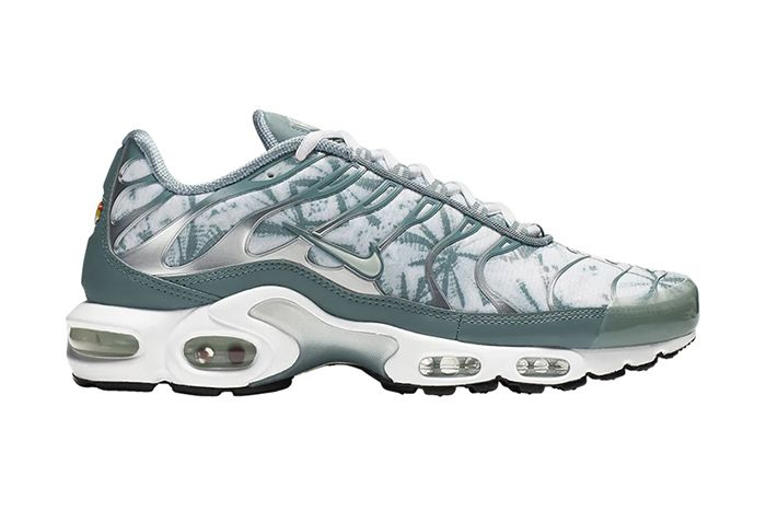 Nike Air Max Plus Palm Pack White Green Release Date Lateral