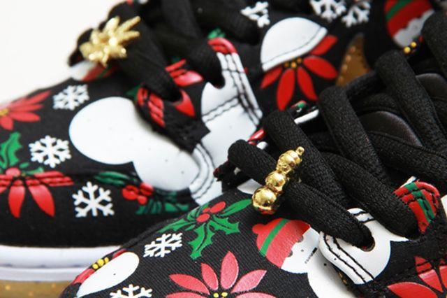 Concepts Nike Sb Dunk High Ugly Christmas Sweater 14