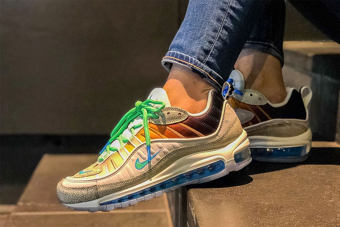 Nike Female Sneakers Air Max 98 Yasmin