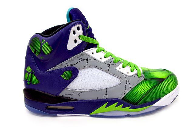 Sekure D Air Smash Jordan 5 Custom 3
