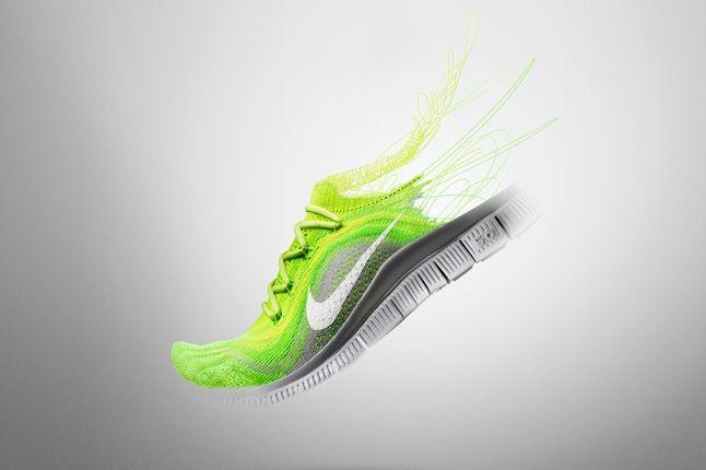 Nike Free Flyknit Neon Promo