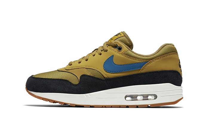 Nike Air Max 1 Golden Moss Blue Force 1