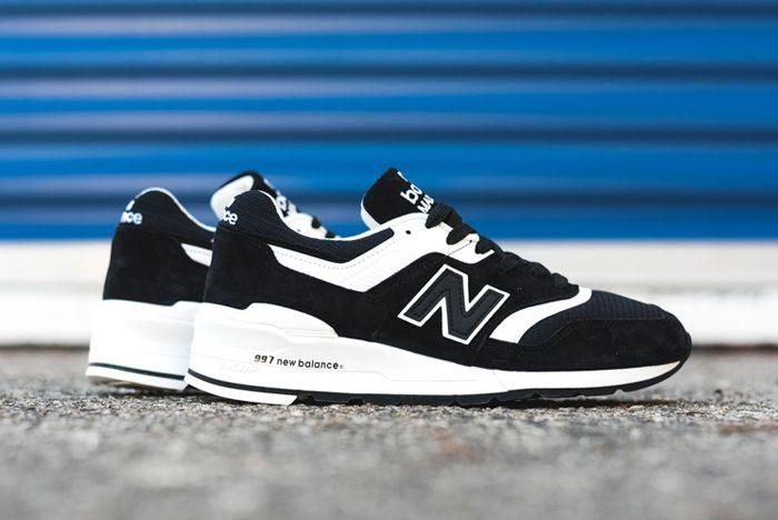 New Balance 997 Black White 4
