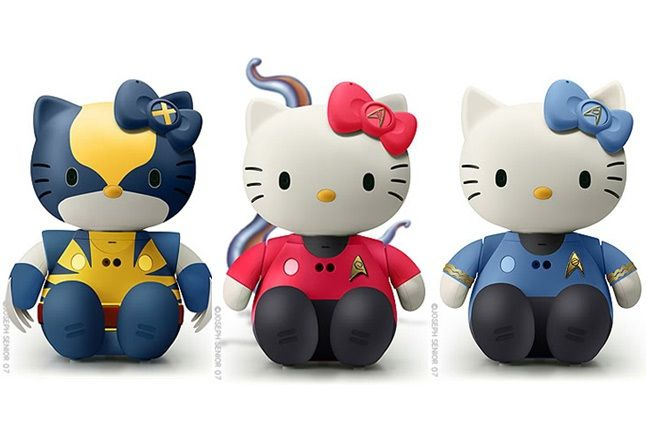 Hello Kitty Star Wars Star Trek 2 1