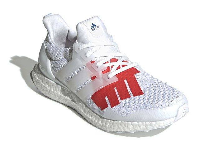 Undefeated X Adidas Ultraboost Stars And Stripes 7 Angle