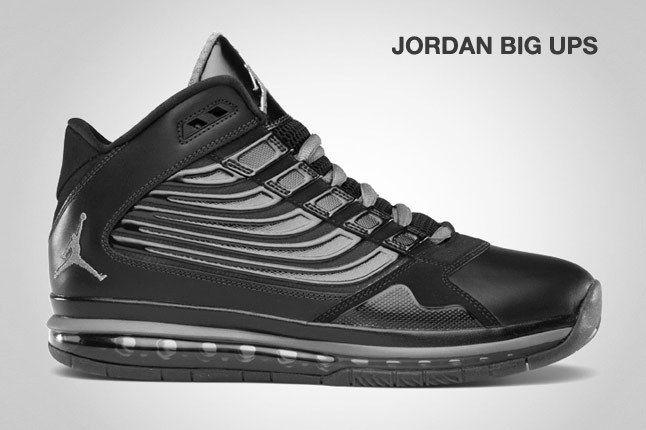 Jordan Big Ups Blk 1